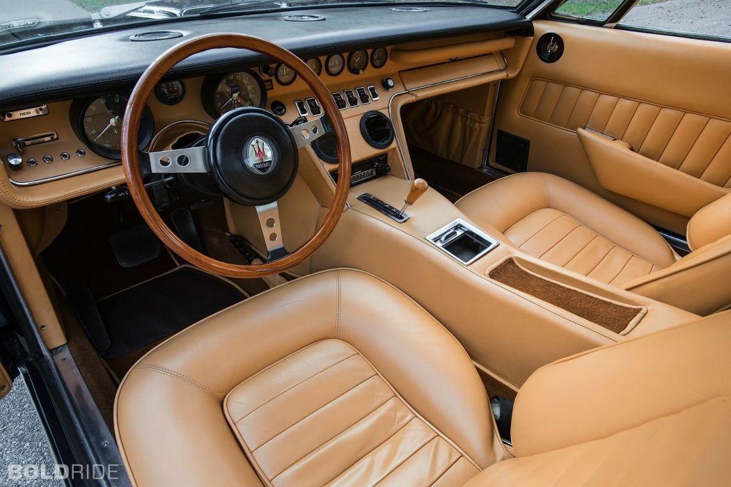 Maserati Ghibli coupe cars supercars classic interior wallpaper