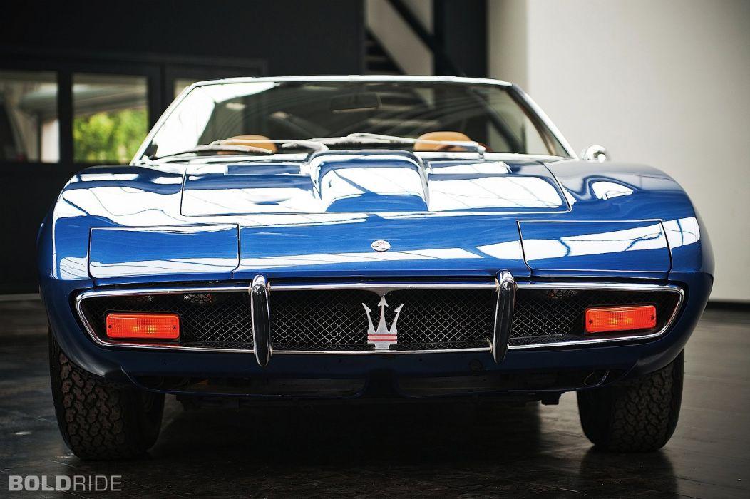 Maserati Ghibli spider spyder cars supercars classic wallpaper