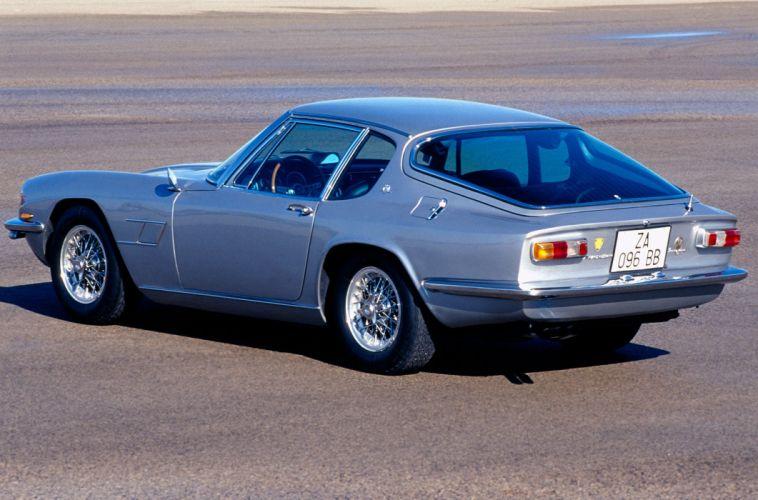 Maserati Mistral coupe cars classic wallpaper