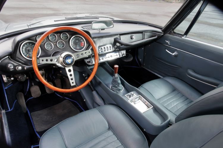 Maserati Mistral coupe cars classic interior wallpaper