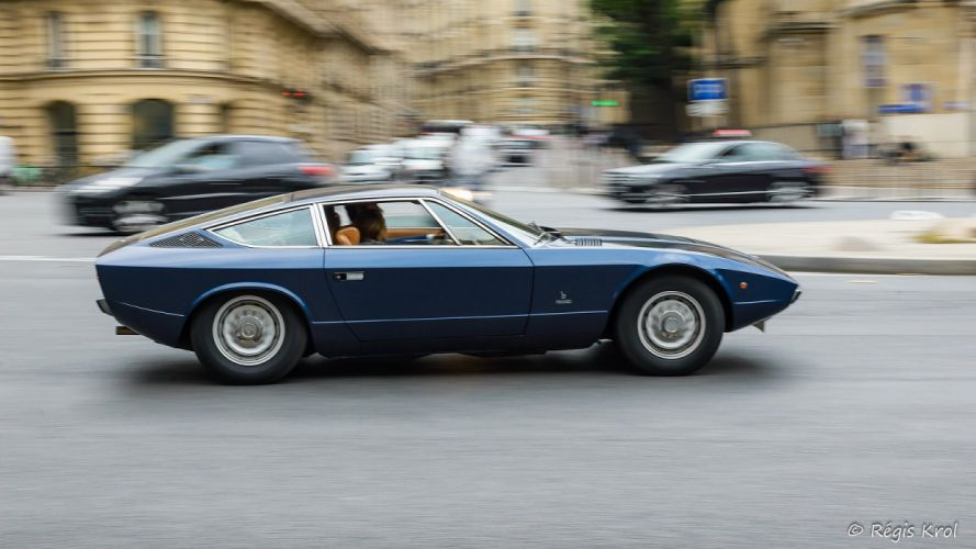 khamsin Maserati Supercar cars coupe classic wallpaper