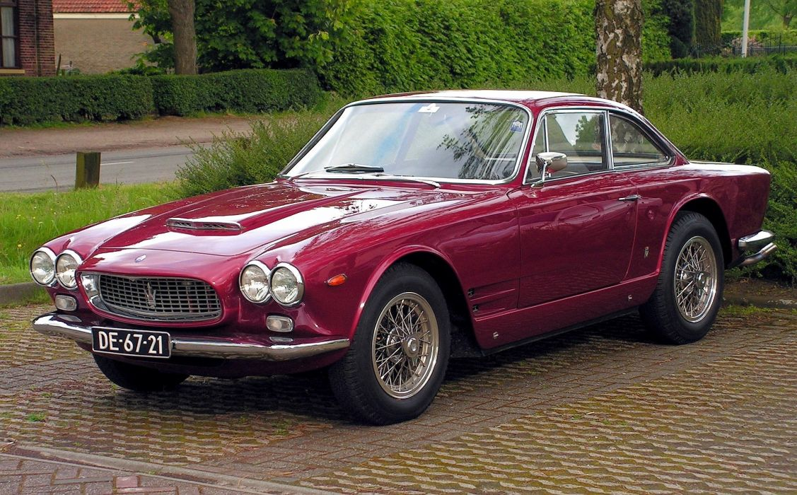 1962 65 3500 am101 classic gti Maserati sebring cars wallpaper