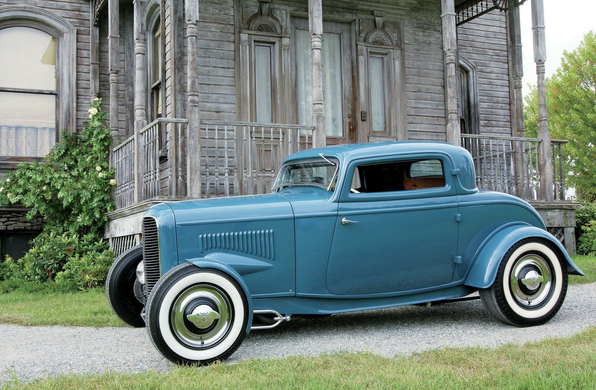 1932 Ford 3 Window Coupe-01 wallpaper