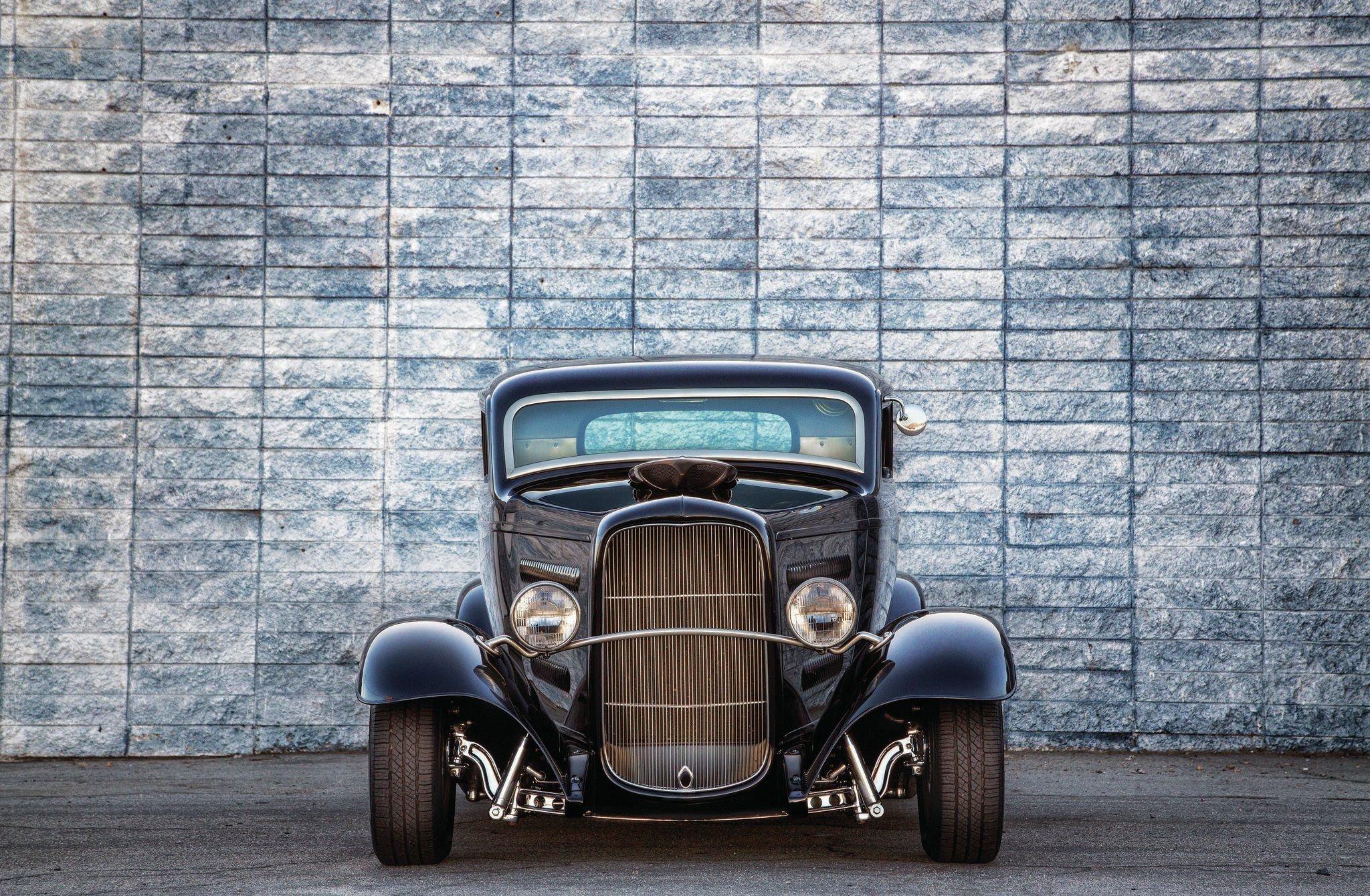 1932 Ford Deuce 3 Window-04 wallpaper
