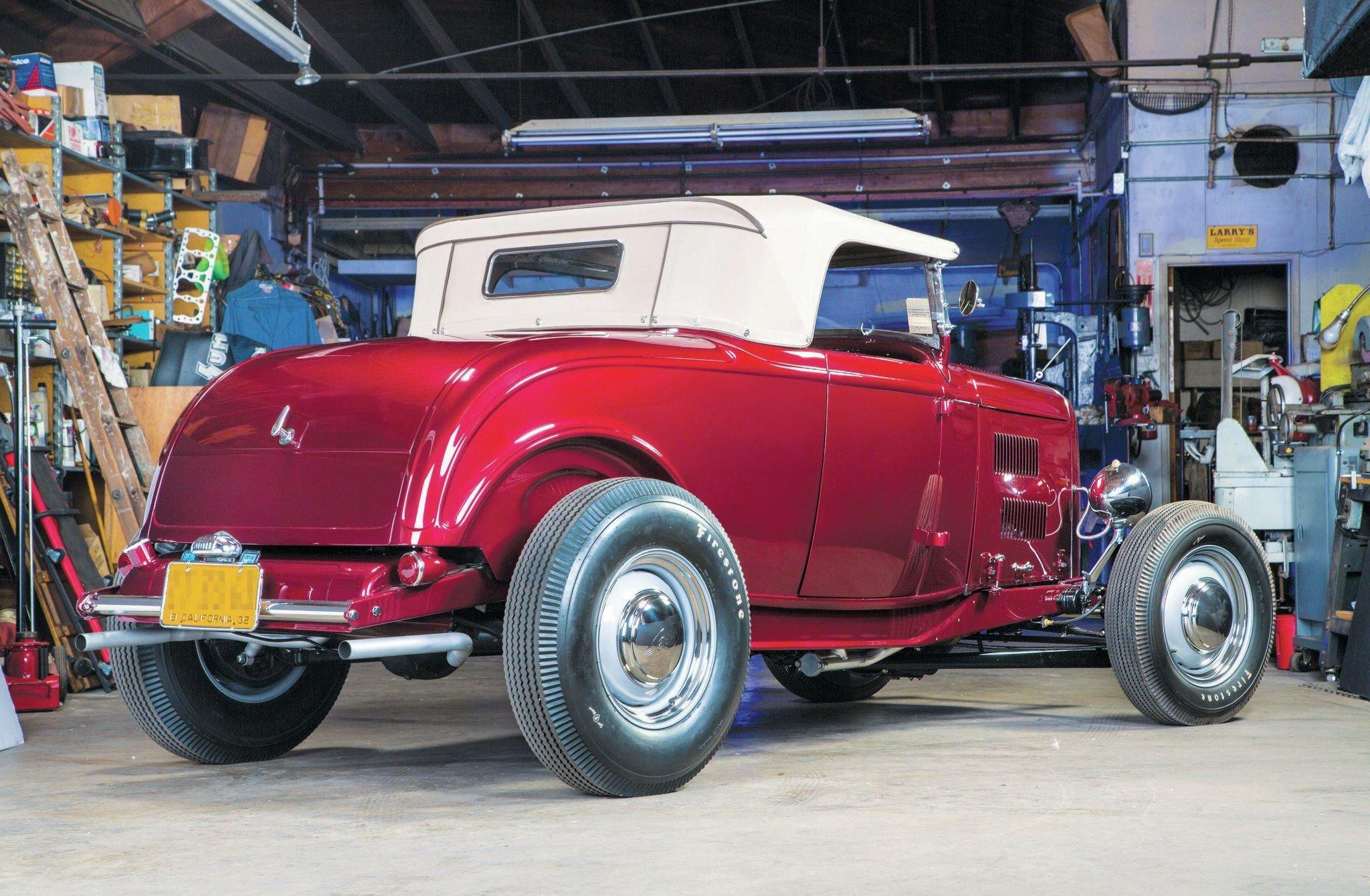 1932 Ford Roadster-05 wallpaper