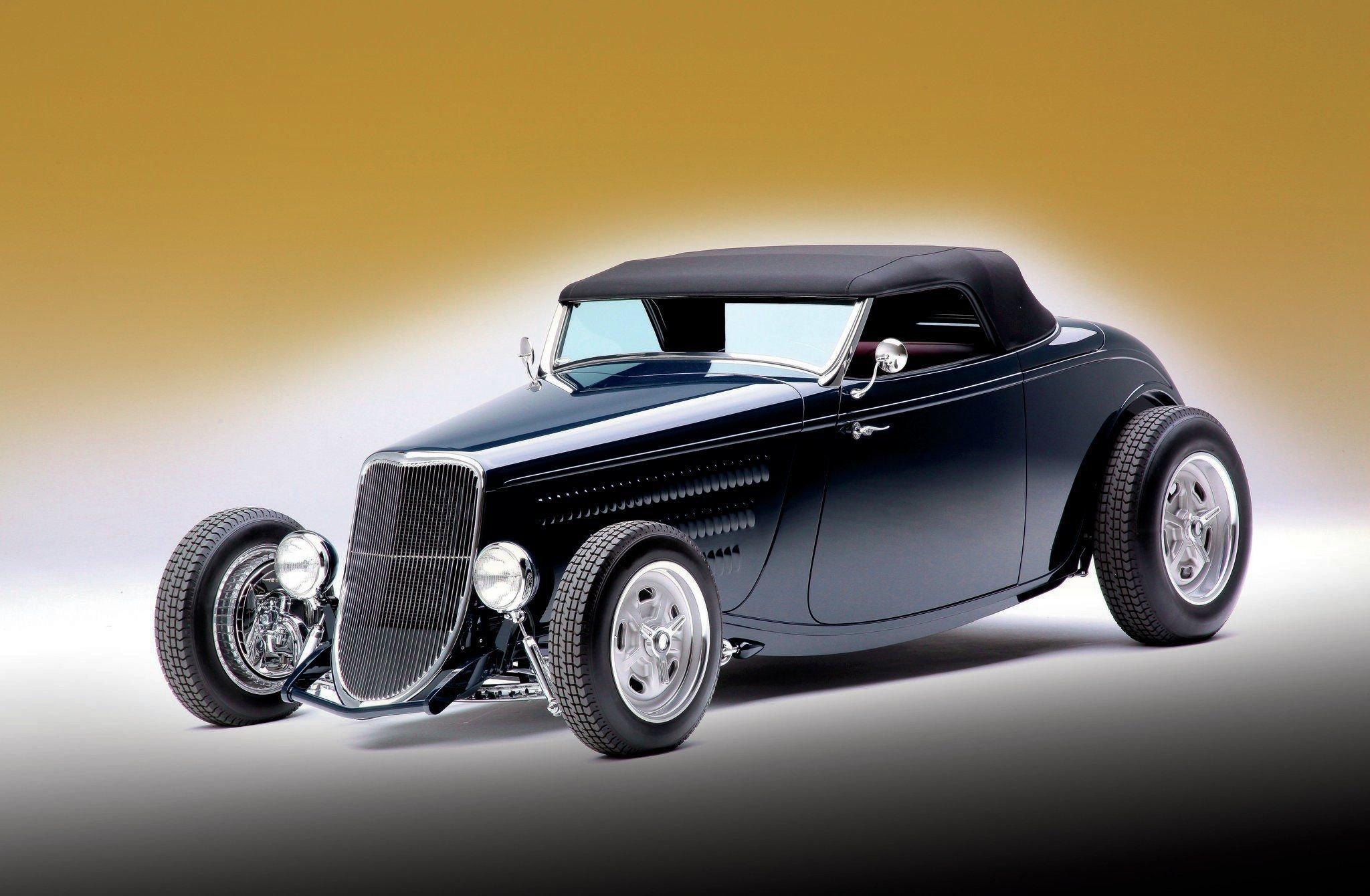 1933 Ford Roadster-01 wallpaper