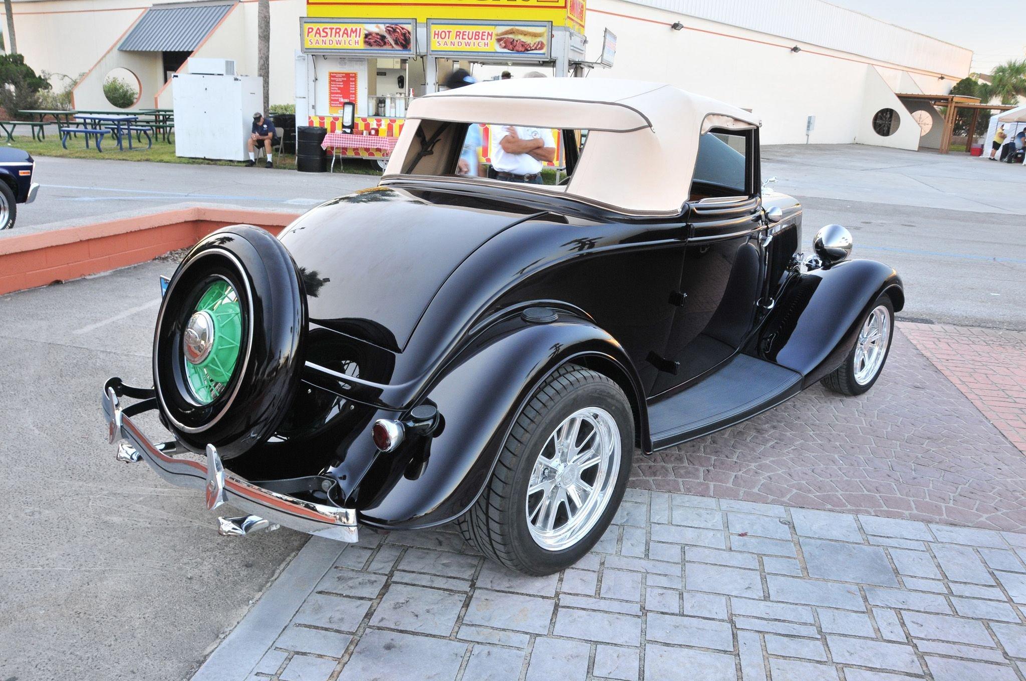 1934 Ford Cabriolet-01 wallpaper