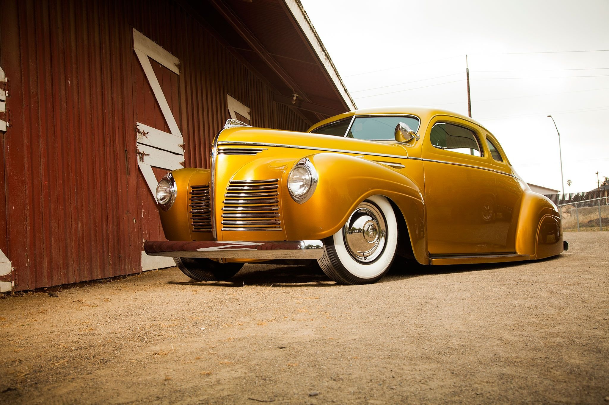 1940 Plymouth P10 Business Coupe Custom-01 wallpaper