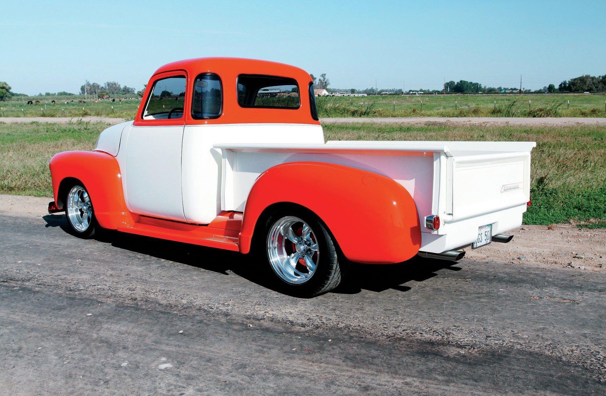 1950 Chevrolet 3100 Pickup-02 wallpaper