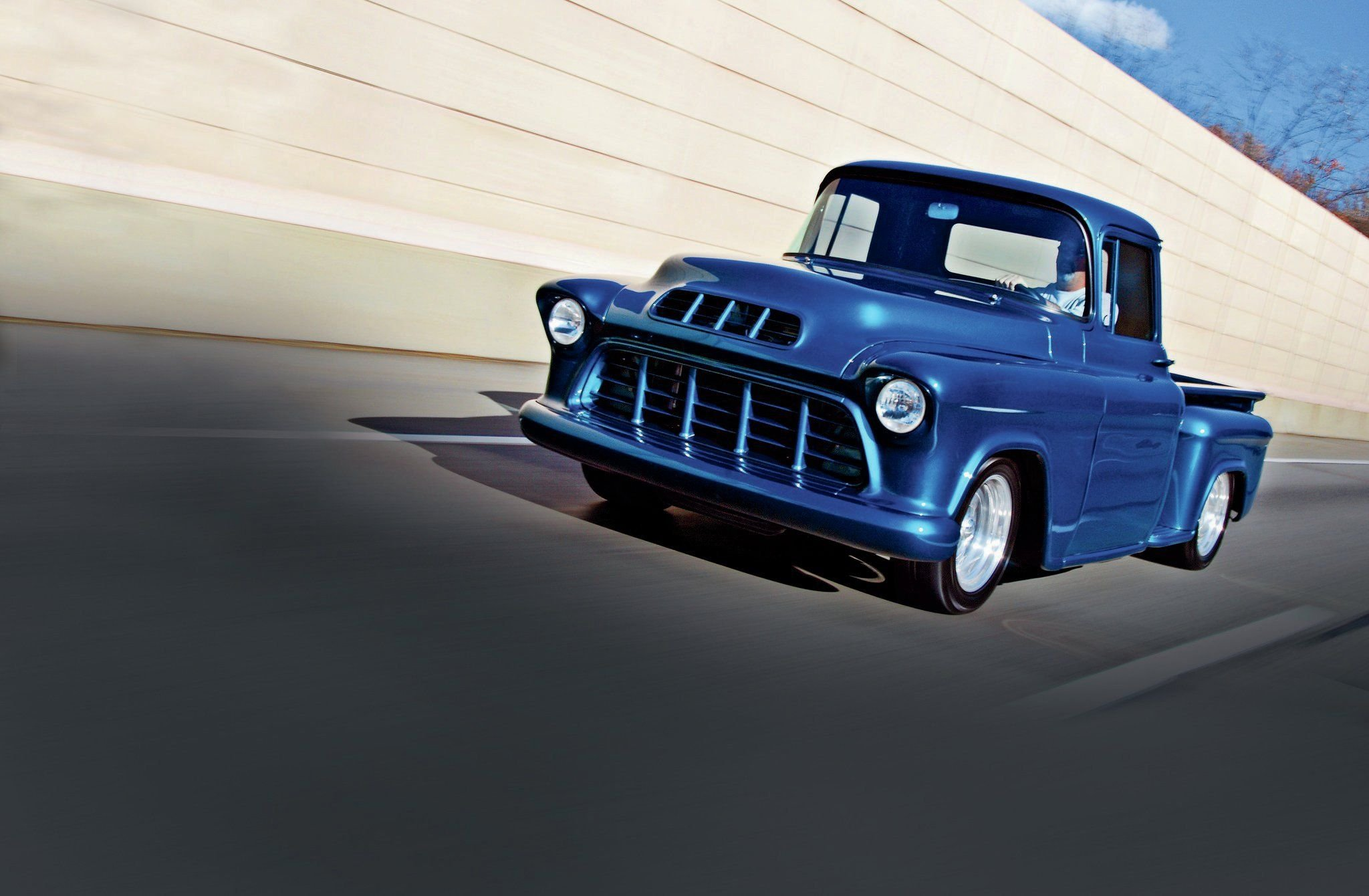 1955 GMC Pickup-01 wallpaper