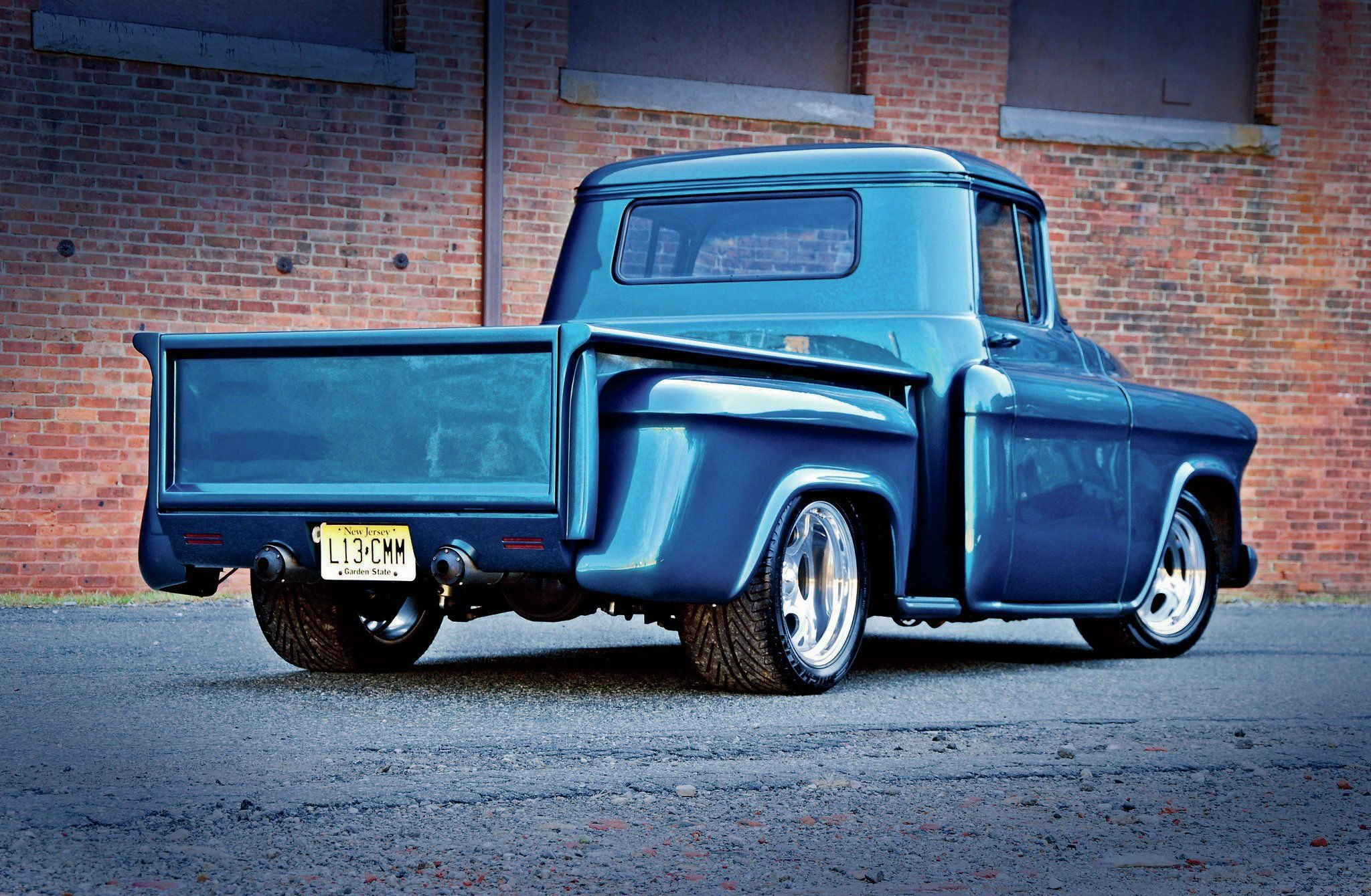 1955 GMC Pickup-02 wallpaper
