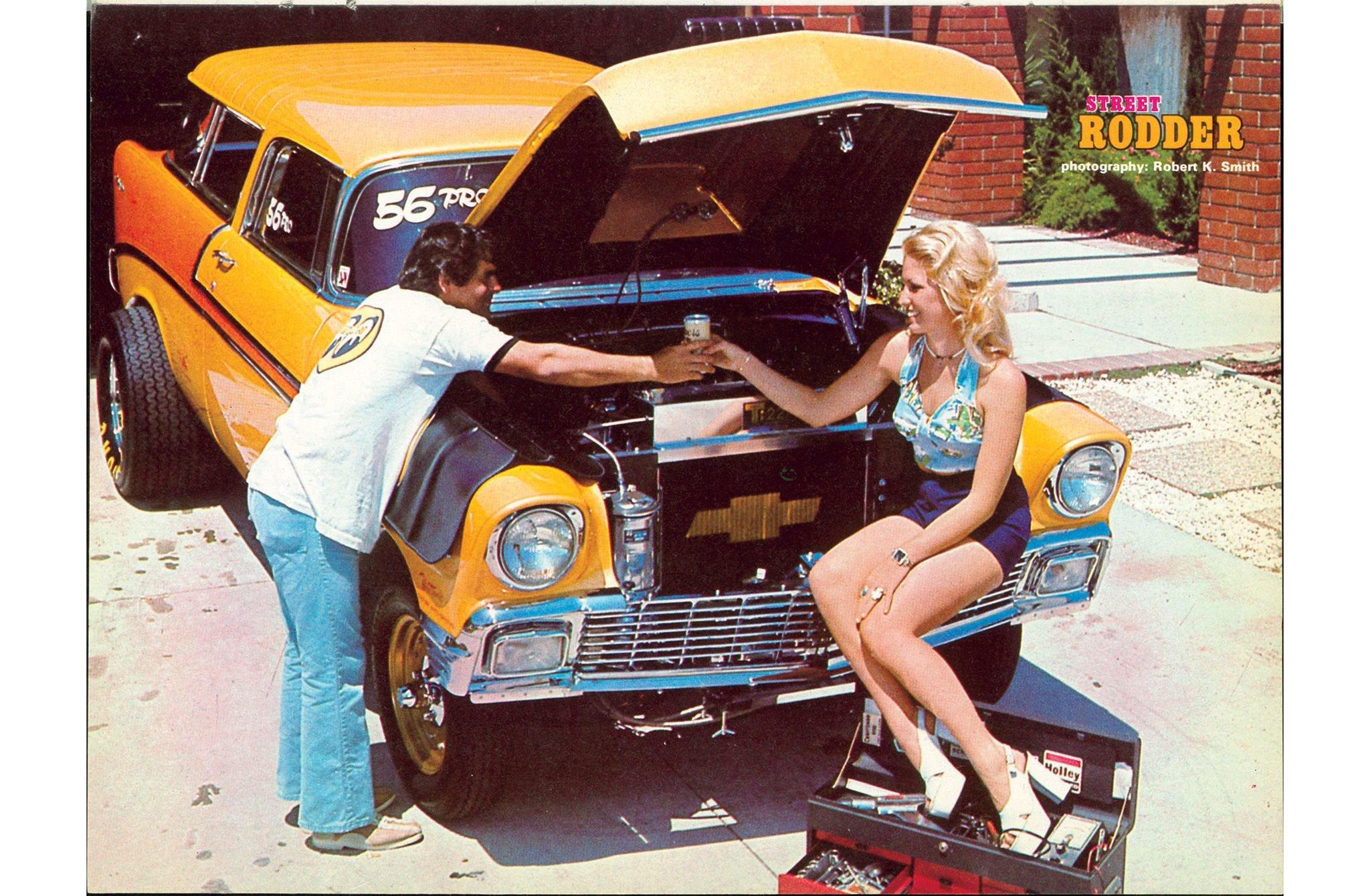 1956 Chevrolet Nomad Gasser-01 wallpaper