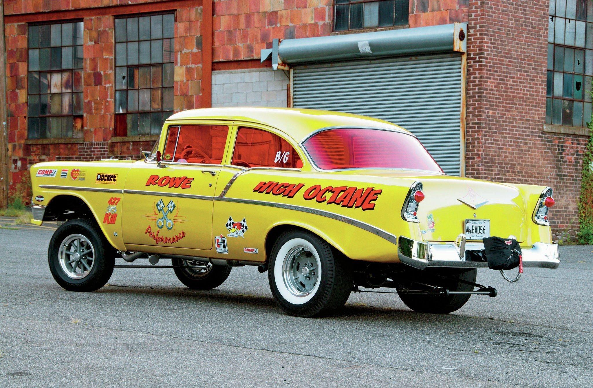 1956 Chevrolet 210 Gasser-02 wallpaper