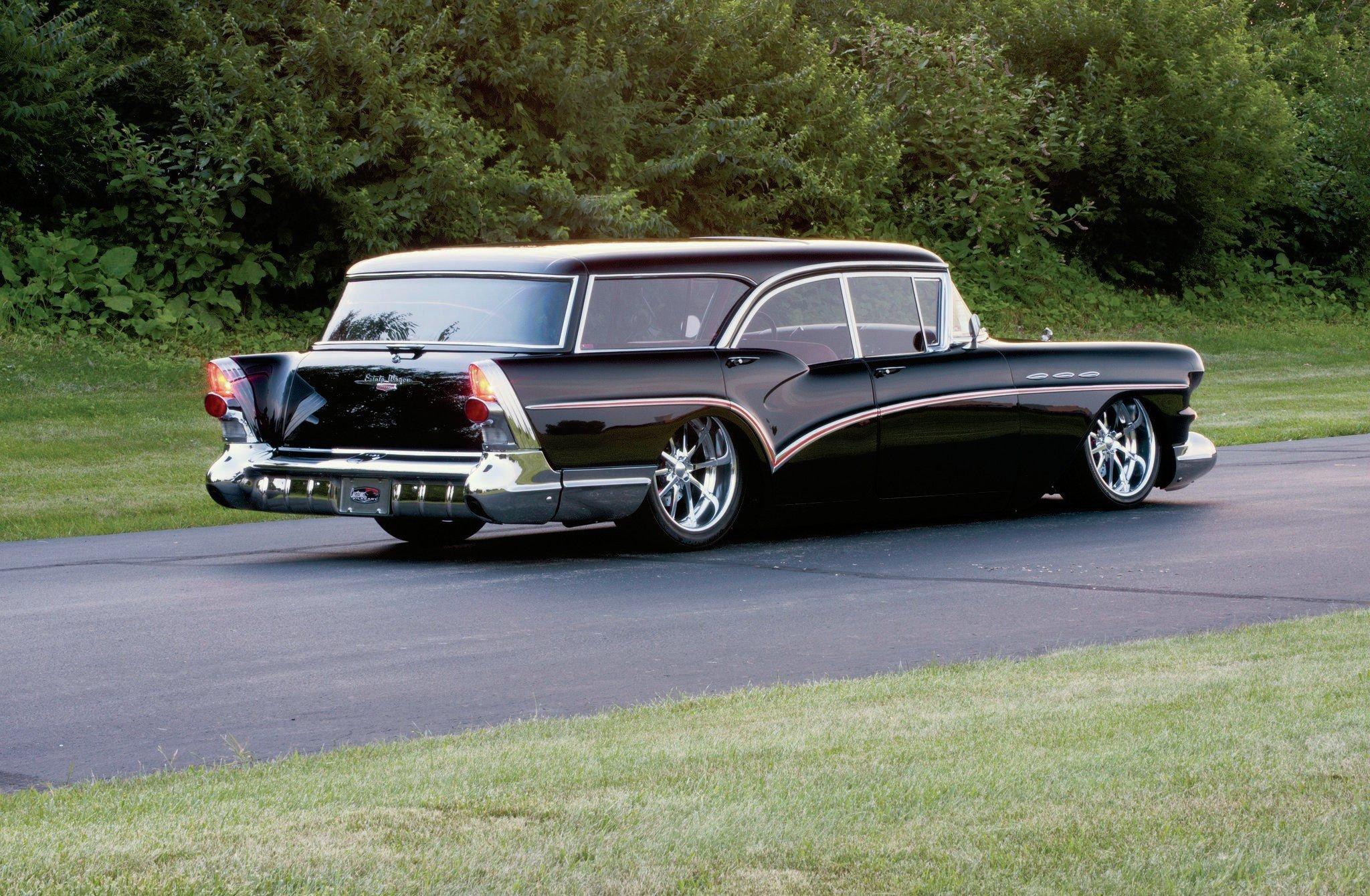1957 Buick Caballero Station Wagon 02 Wallpaper 0x0 613734 Wallpaperup