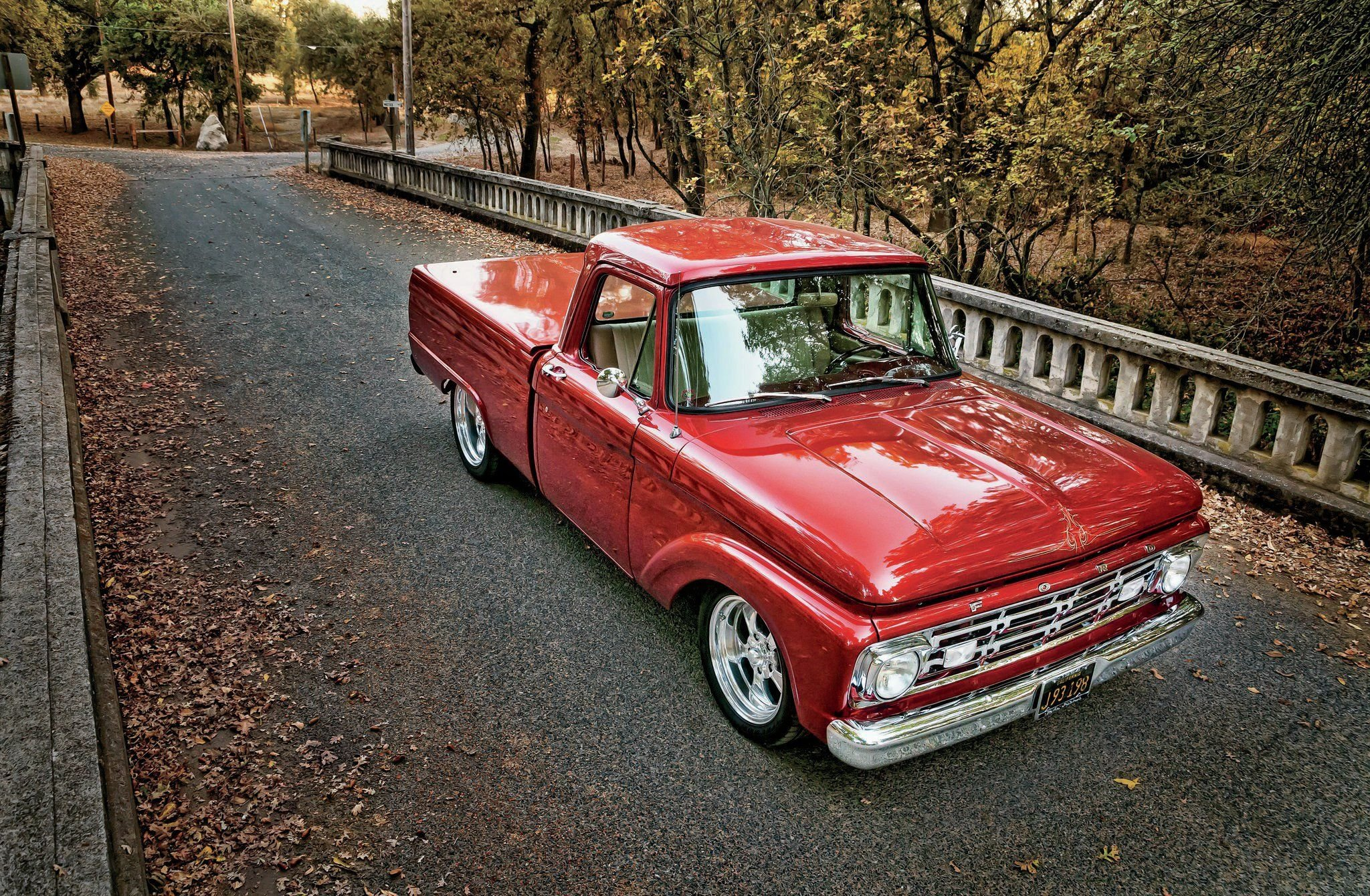 1964 Ford F-100 Pickup-03 wallpaper