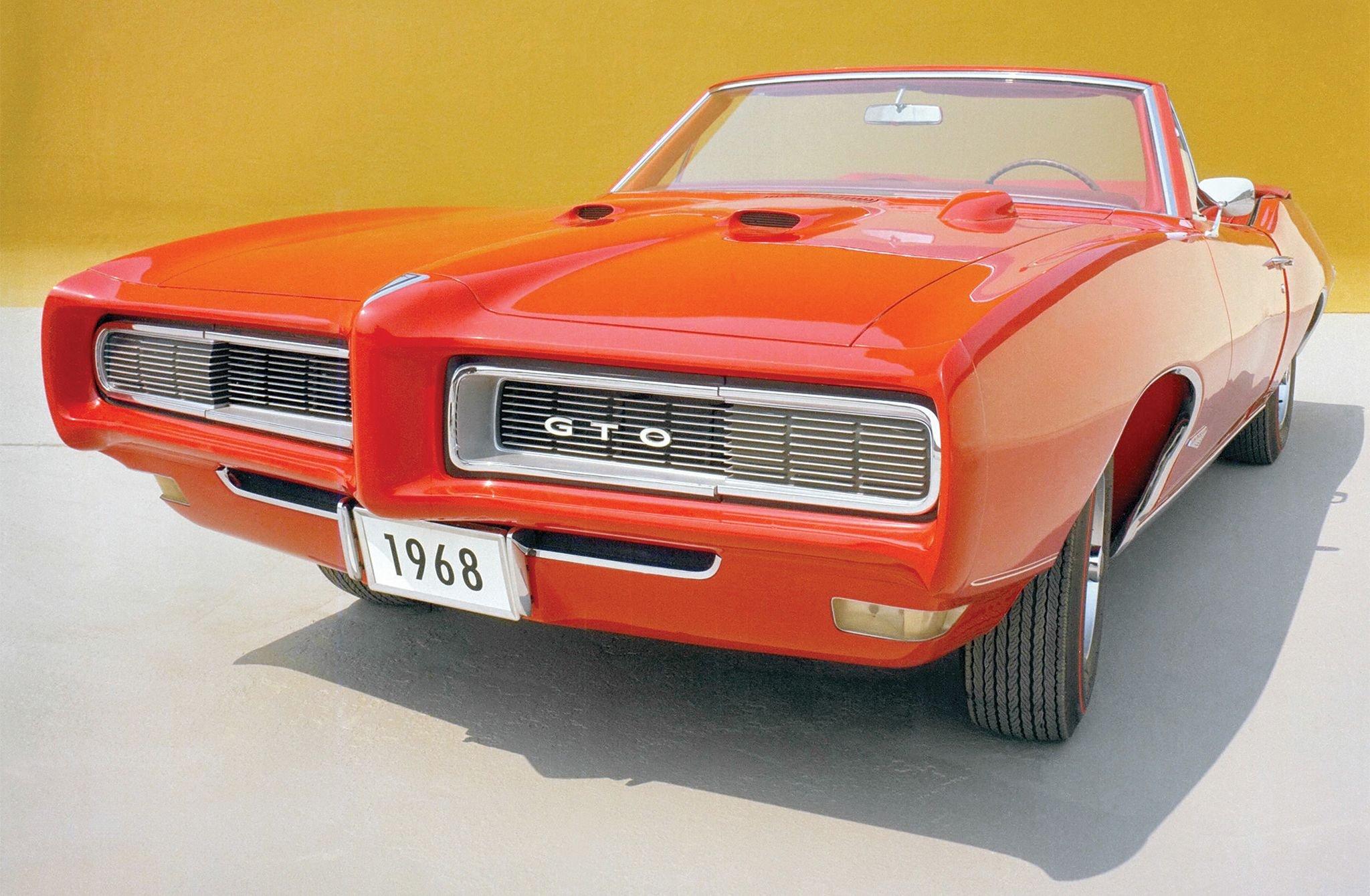 1968 Pontiac GTO Convertible-01 wallpaper