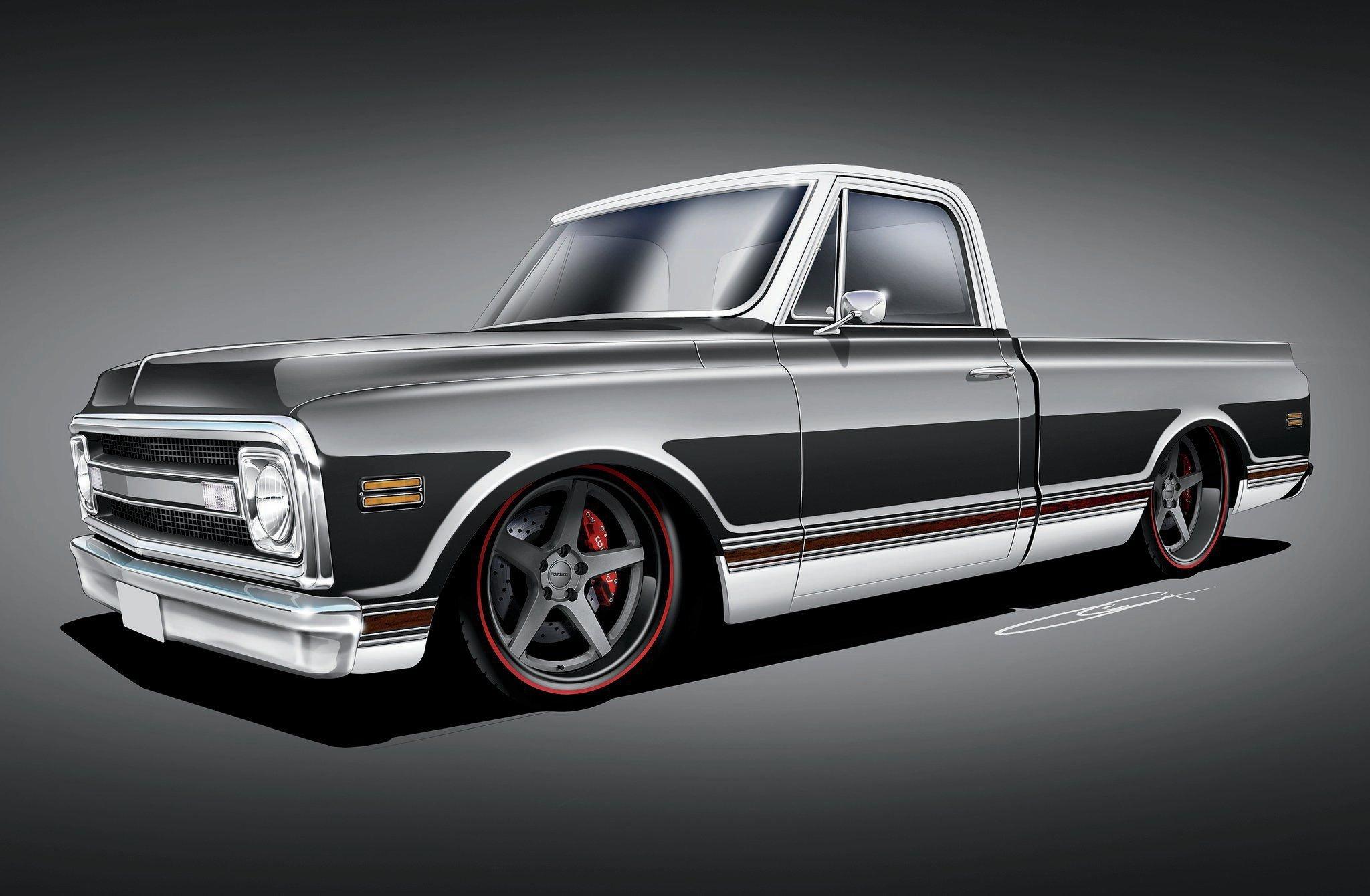 1969 Chevrolet C10 Rs Pickup 03 Wallpaper 0x0 613862