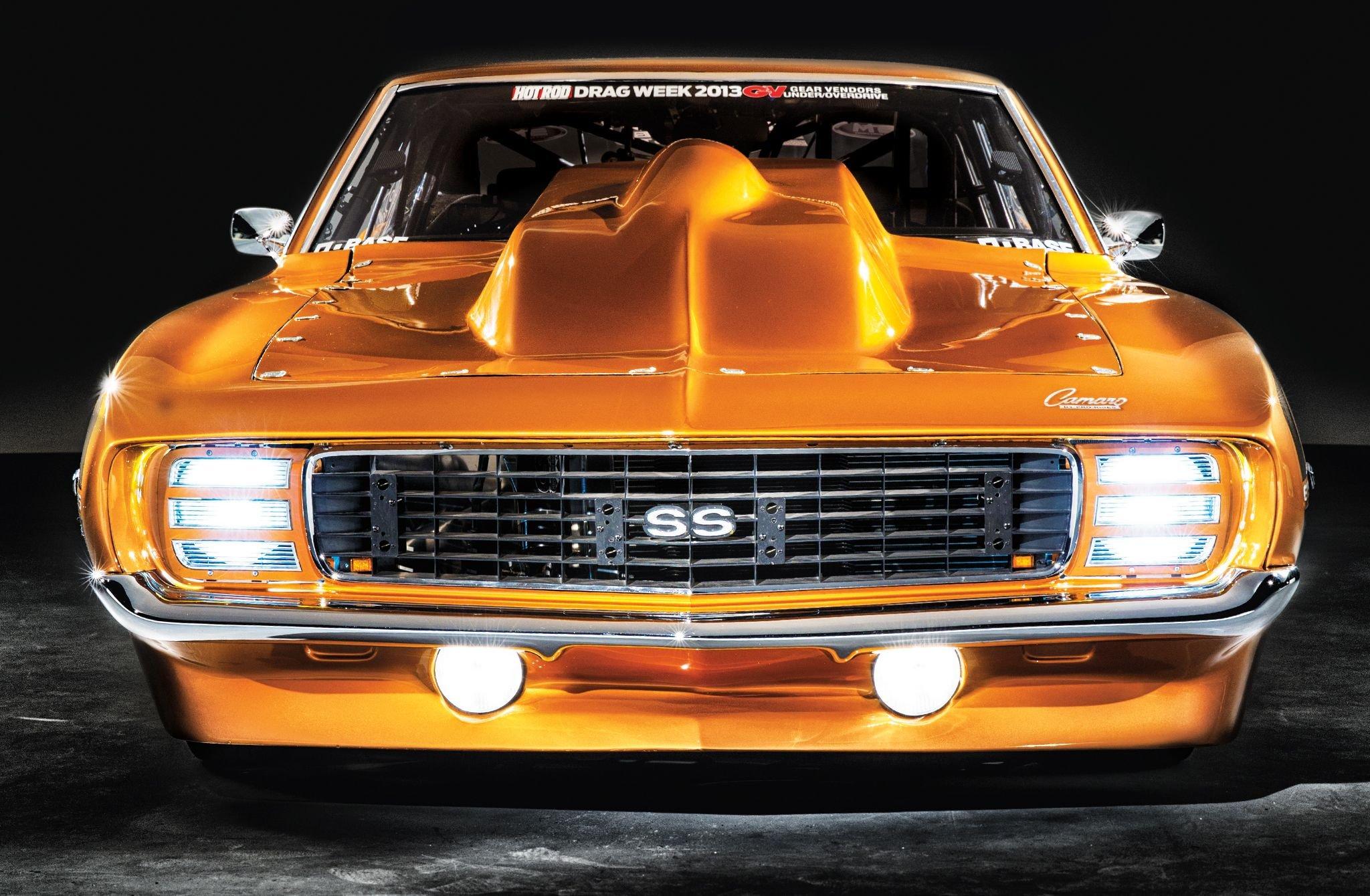 1969 Chevrolet Camaro SS Pro Street-01 wallpaper