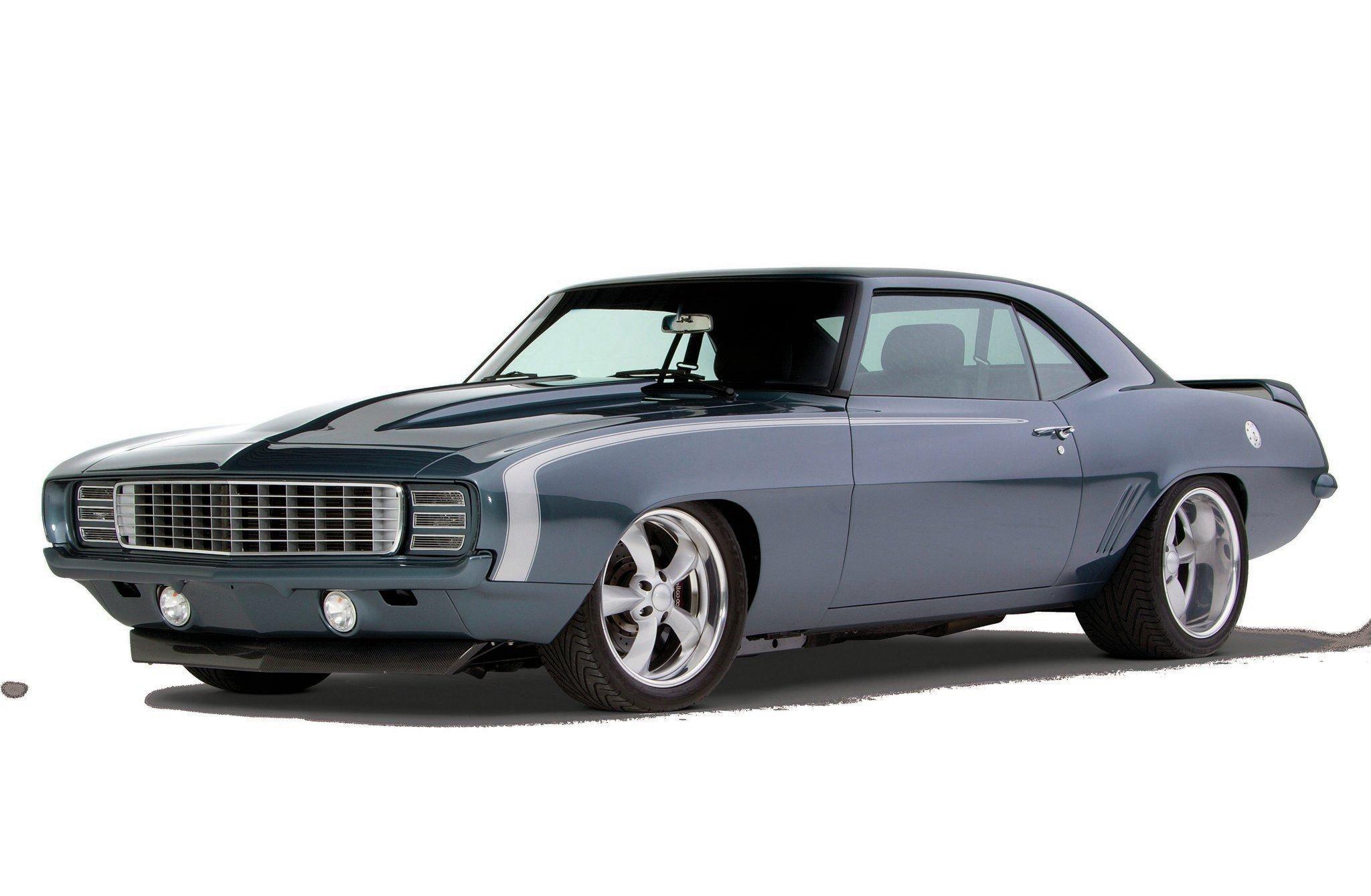 1969 Chevrolet Camaro Hot-02 wallpaper