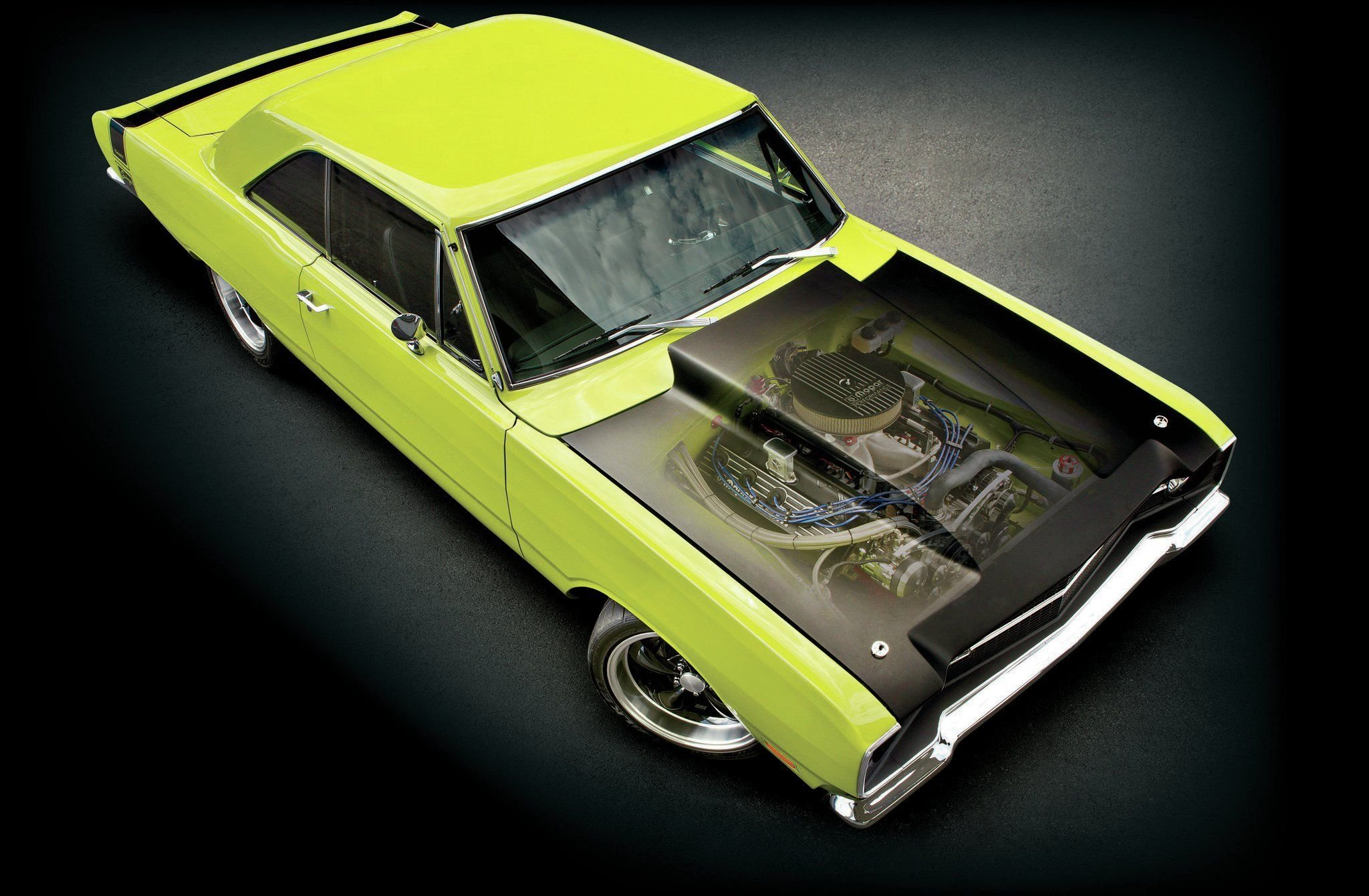 1969 Dodge Dart Swinger-01 wallpaper