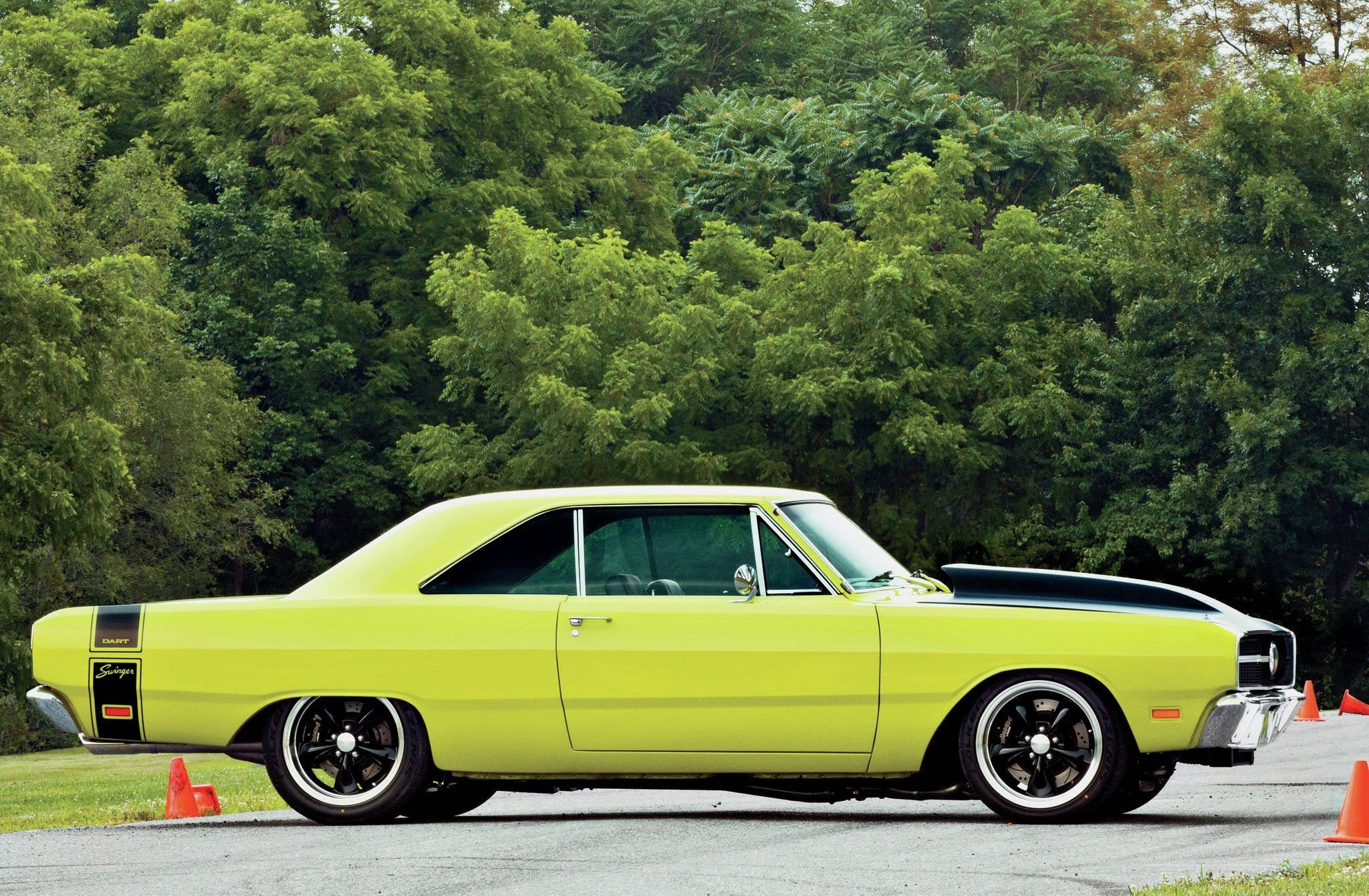 1969 Dodge Dart Swinger-03 wallpaper