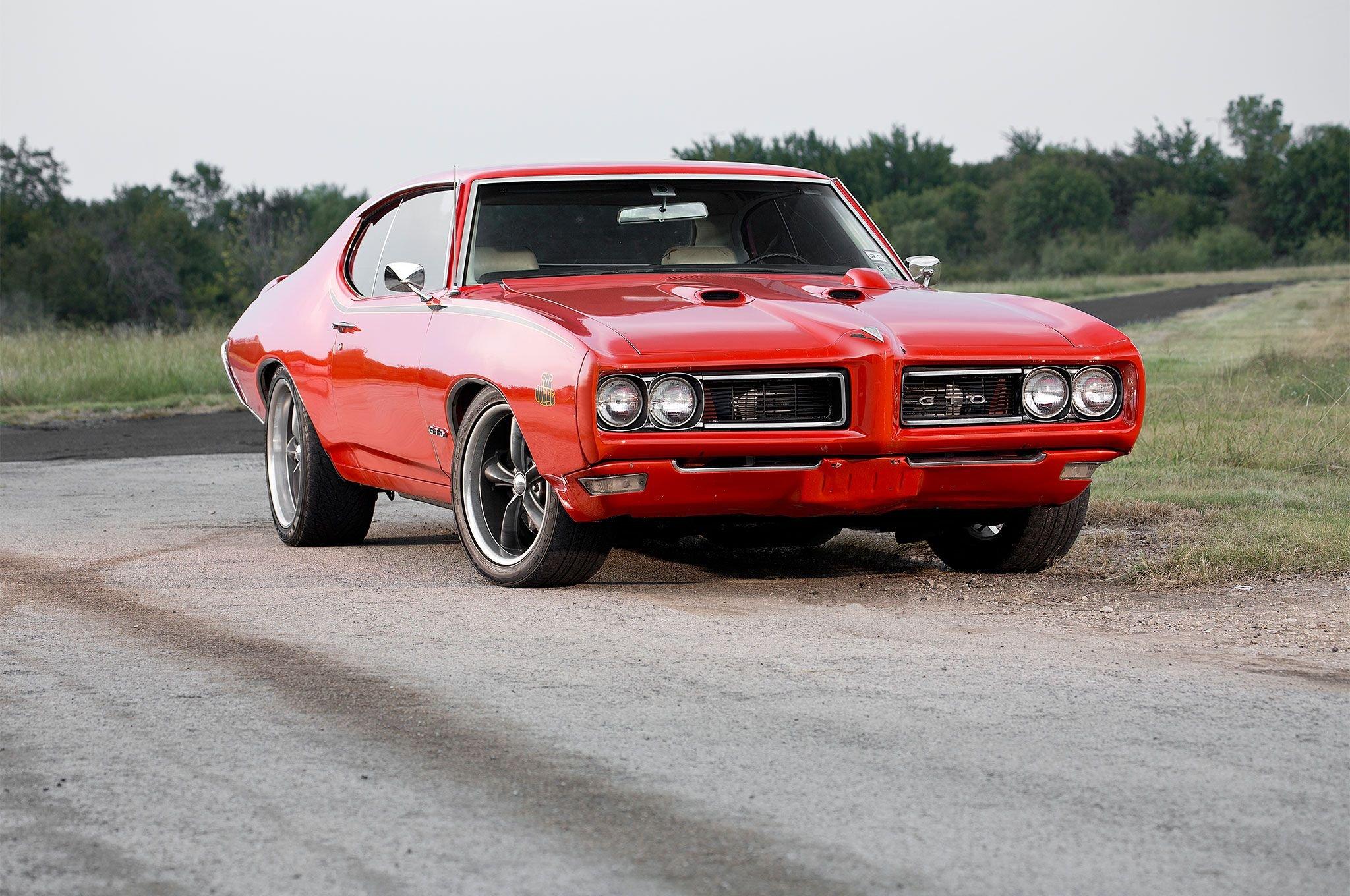 1969 Pontiac GTO Judge-02 wallpaper