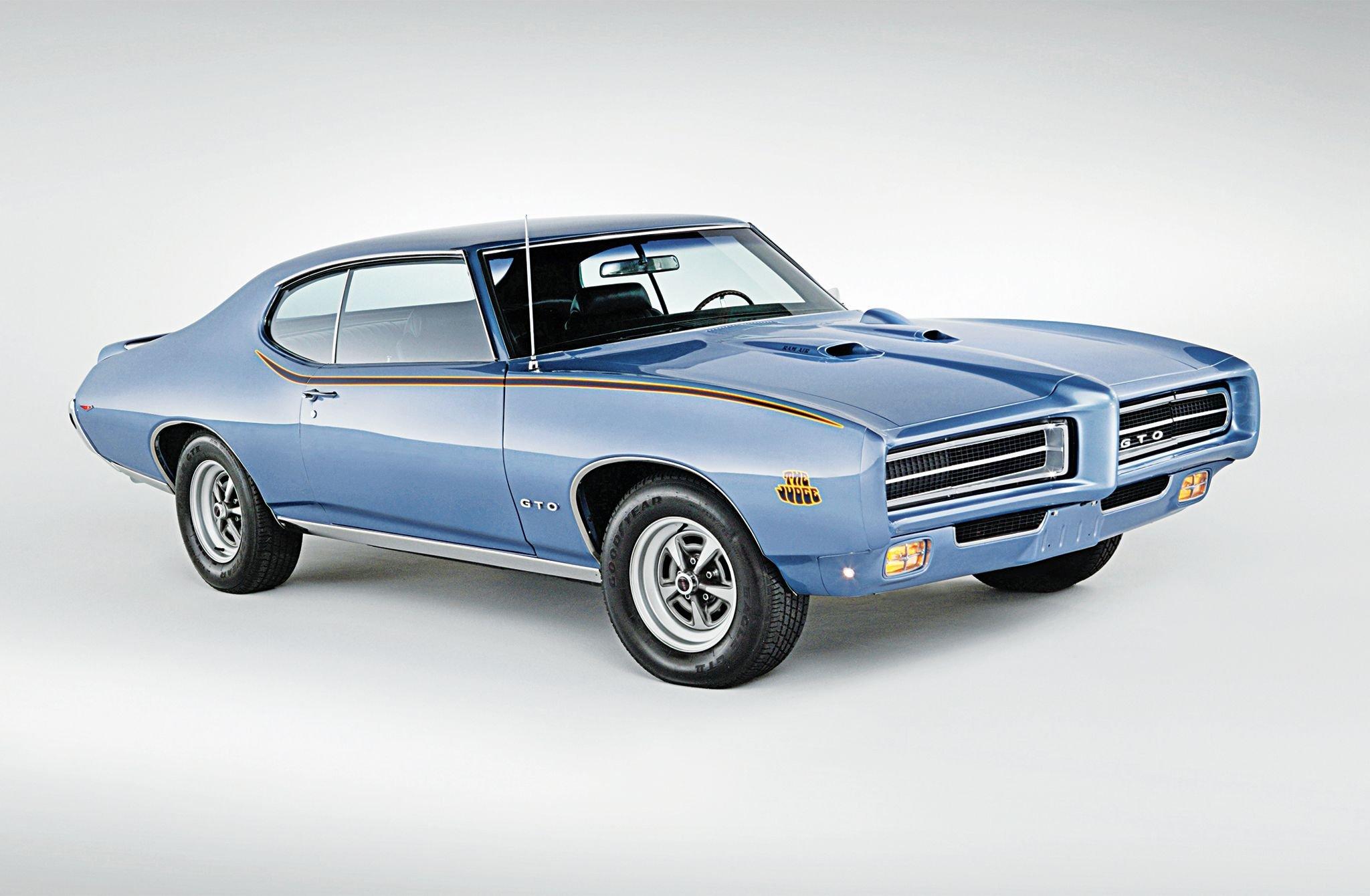 1969 Pontiac GTO Judge-01 wallpaper