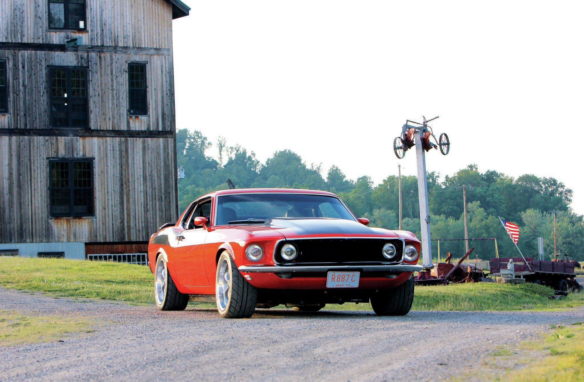 1969 Ford Mustang 302-02 wallpaper