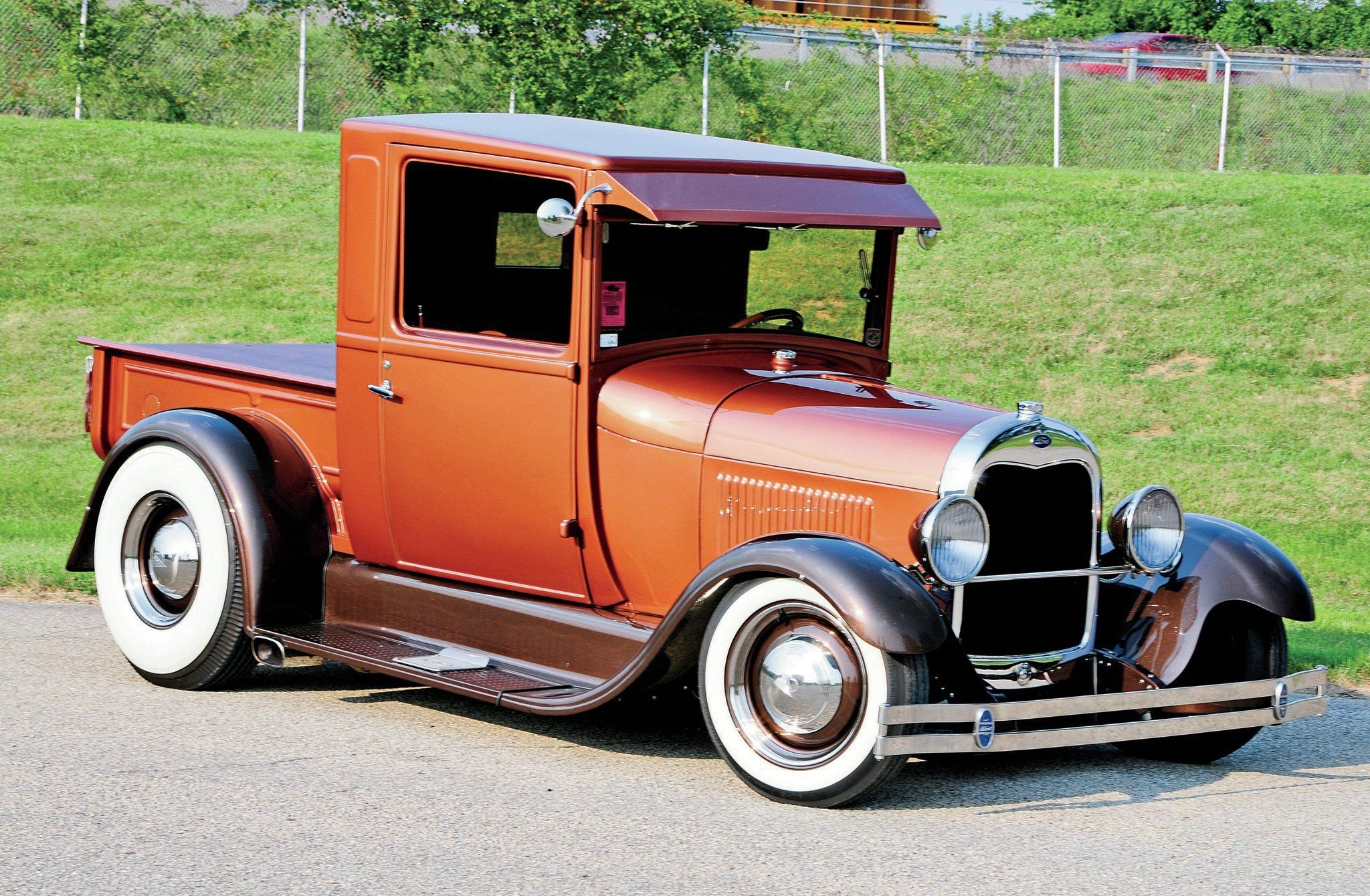 1928 Ford Model A Pickup-01 wallpaper