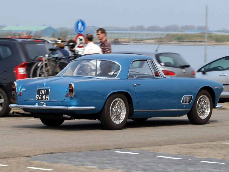 Maserati 3500 GT coupe cars classic wallpaper