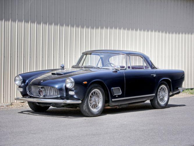 Maserati 3500 GT coupe cars classic wallpaper