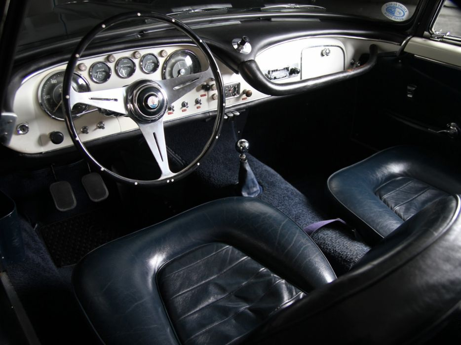 Maserati 3500 GT coupe cars classic interior wallpaper