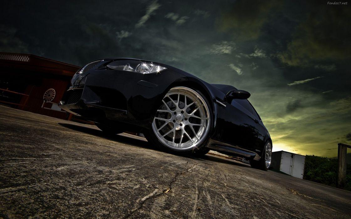 coches bmw negro bmw de lujo bmw black wallpaper