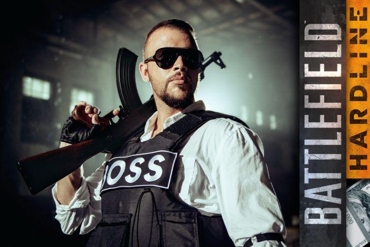BATTLEFIELD Hardline shooter fighting military action stealth tactical fps crime poster wallpaper