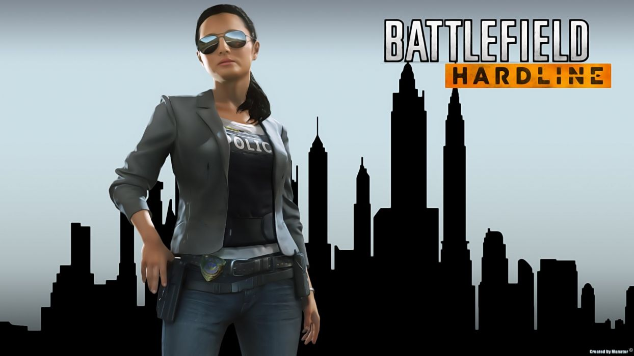 Battlefield Hardline Shooter Fighting Military Action