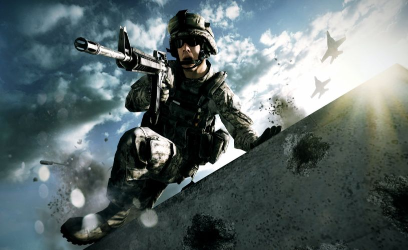 BATTLEFIELD Hardline shooter fighting military action stealth tactical fps crime wallpaper