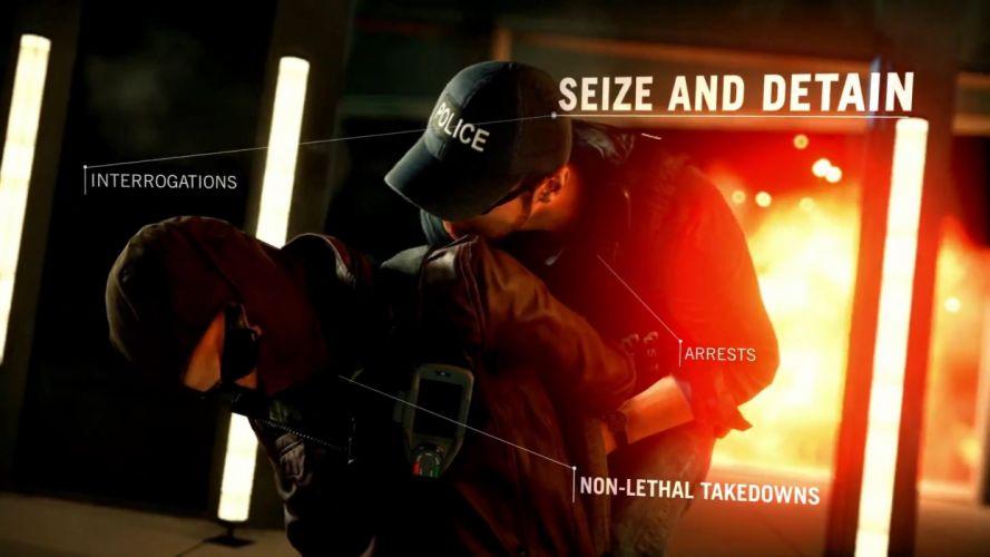 BATTLEFIELD Hardline shooter fighting military action stealth tactical fps crime wallpaper