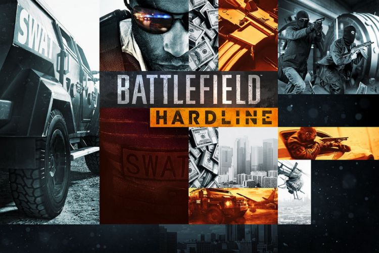 BATTLEFIELD Hardline shooter fighting military action stealth tactical fps crime poster wallpaper