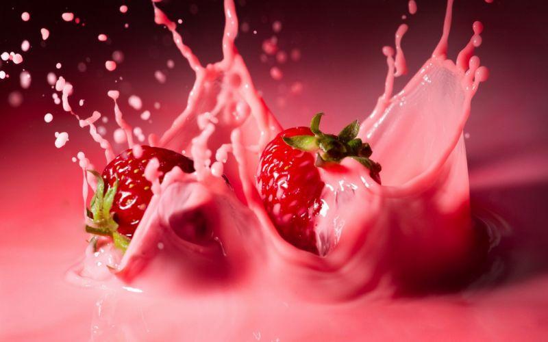 Stawberries wallpaper