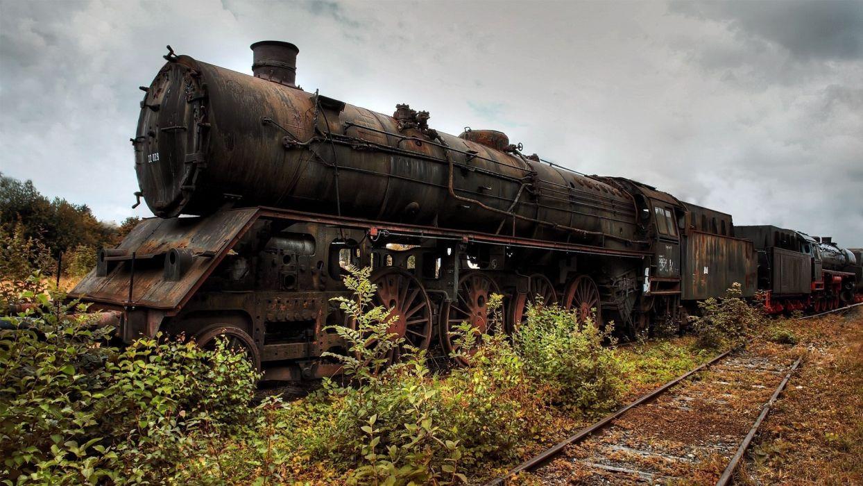 Old Train wallpaper