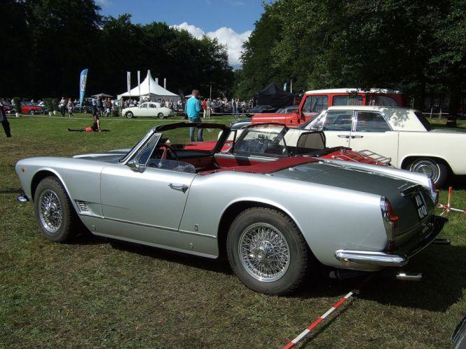 3500 gt cars classic spider spyder Maserati wallpaper