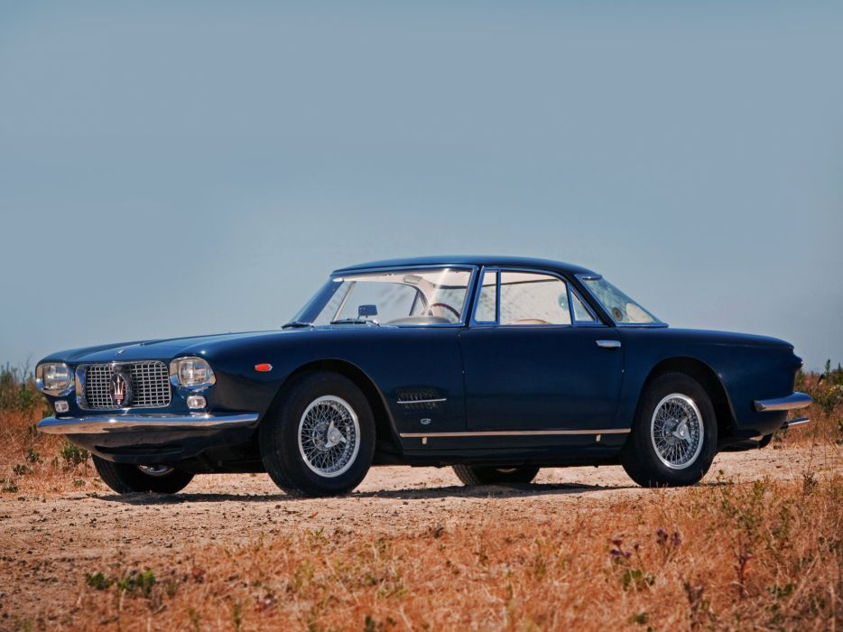 5000 gt cars classic Coupe Maserati wallpaper