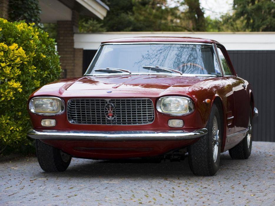 5000 gt cars classic Coupe Maserati wallpaper