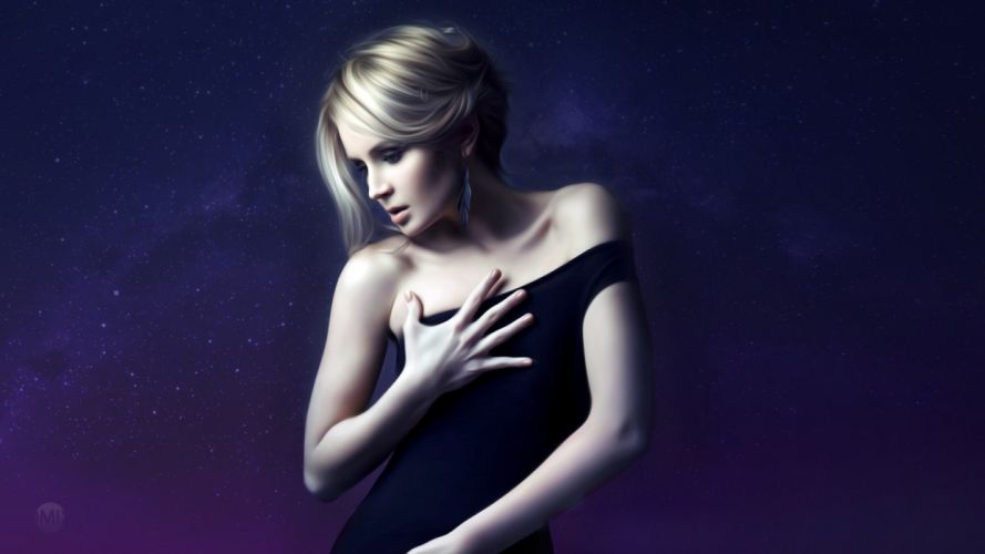 russian singer Polina Gagarina wallpaper