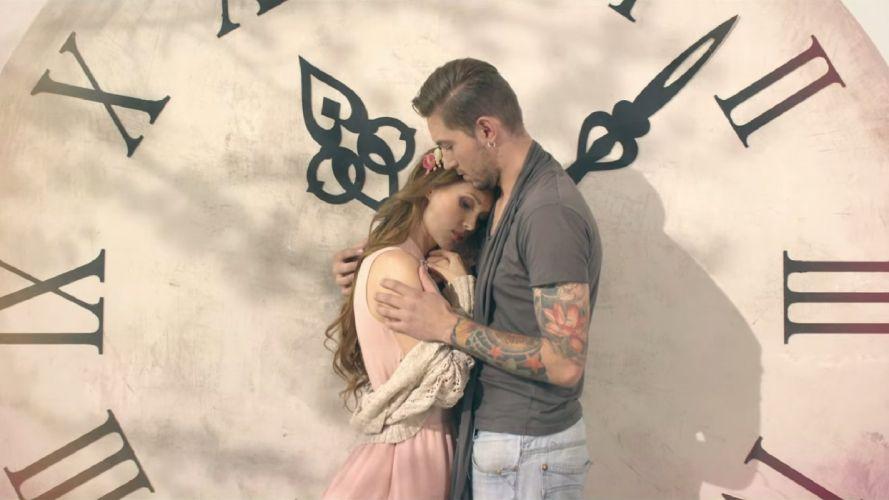 feeling Ukrainian singer Aida Nikolaychuk beauty woman blonde and man model wallpaper