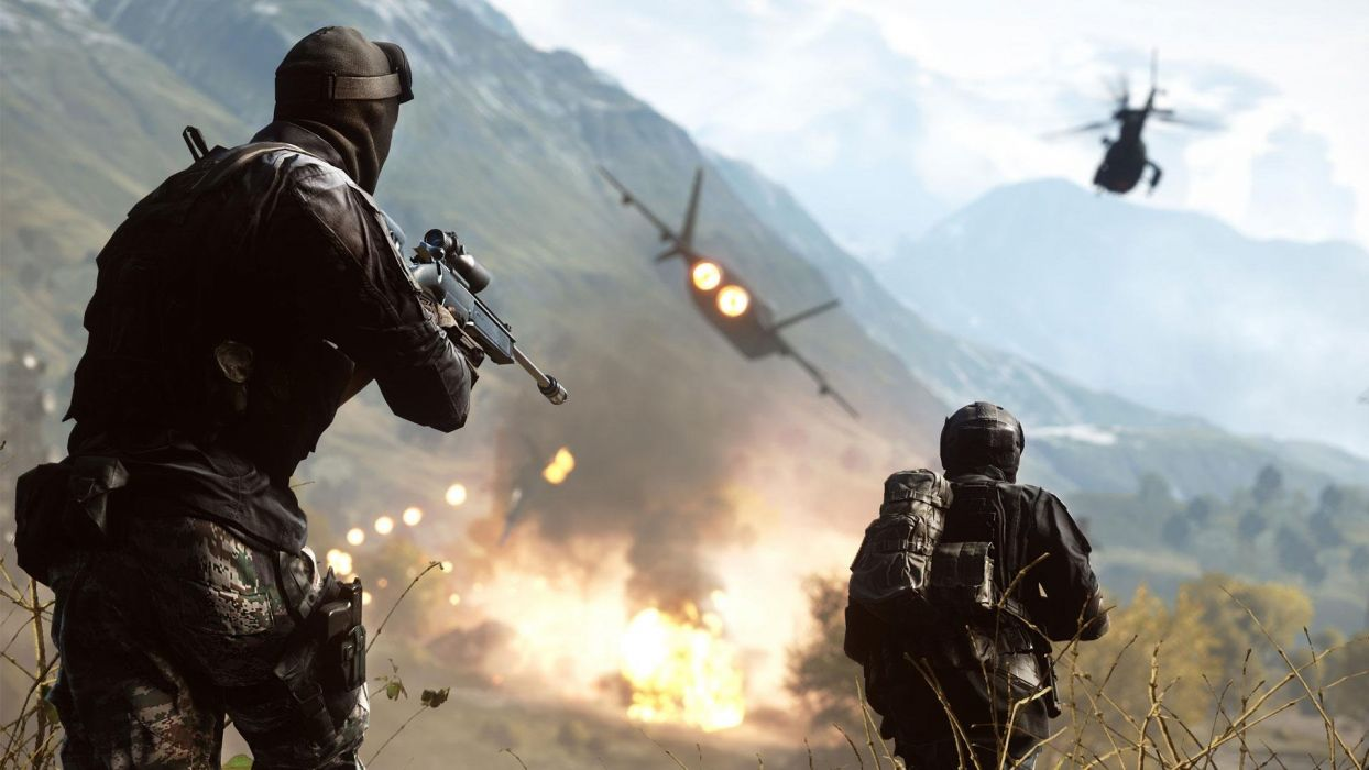 BATTLEFIELD 4 shooter tactical stealth fighting action military four wallpaper