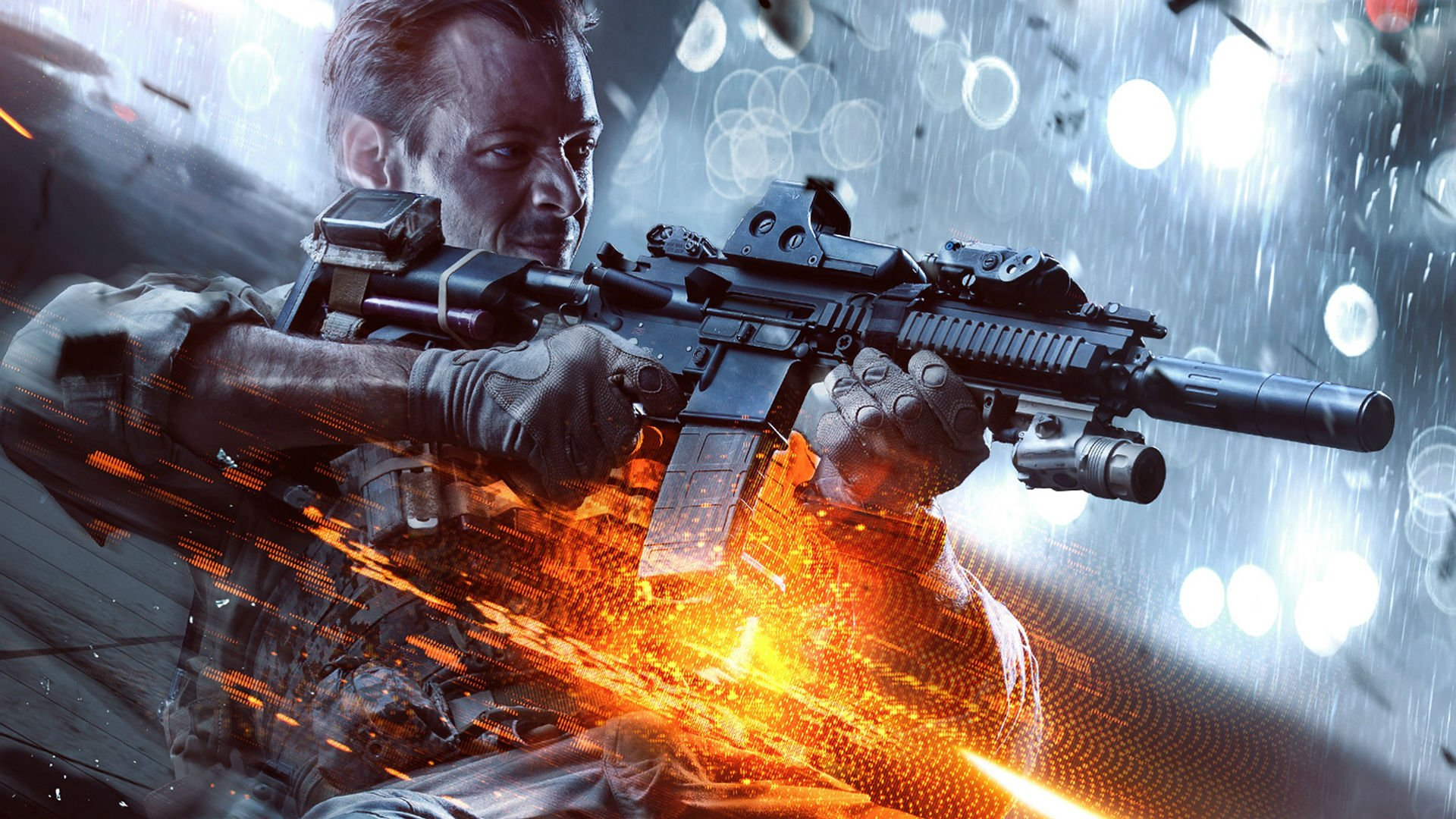 battlefield 4 shooter tactical stealth fighting action