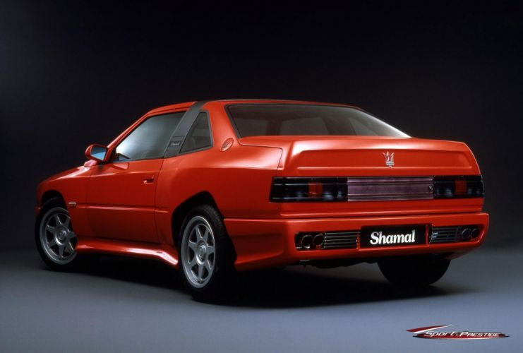 Maserati Shamal coupe cars classic wallpaper
