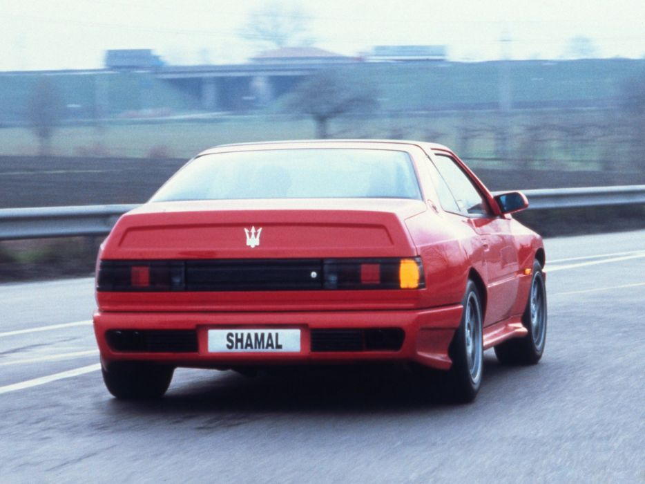 Maserati Shamal coupe cars classic wallpaper