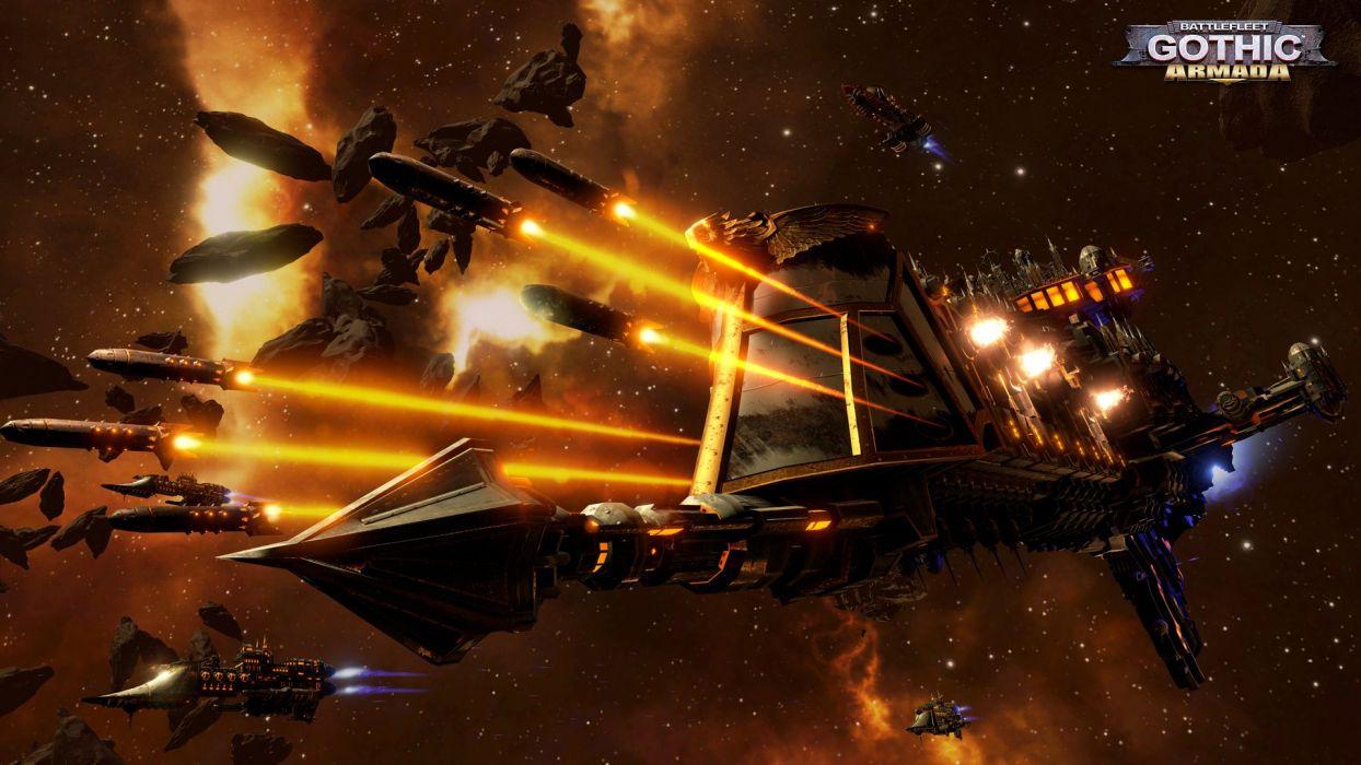 Warhammer 40k board sci-fi futuristic shooter rpg 1battlefleet action spaceship wallpaper
